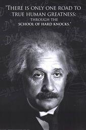 Einstein – menschliche Größe