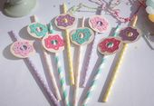 Paper straws for every theme party