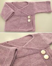 Baby Kimono – kostenlose Strickanleitung, #kimono #free #style   – Baby