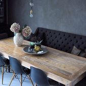 Photo of Bench dining table