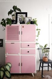 Inspiration boost: give your (vintage) cupboard a makeover