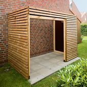 Bike shed build yourself: instructions with Baupla …