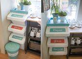 Einbau-Mülleimer außer Sichtweite halten – Moderne Ideen für Ihre Küche
