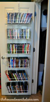 Movie Storage for Small Spaces