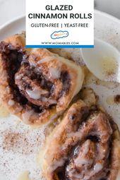 Gluten Free Cinnamon Rolls   – Breakfast