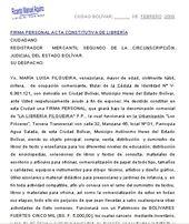 Librería Firma Personal Acta Constitutiva Formatos Y Modelos Legales Firmas Personales Firma Libreria