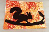 Ideen für den Kunstunterricht: Eichhörnchen im H…