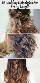 30 Wedding Hairstyles For Every Length – Best Hairstyles