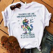 Trainer are like unicornasaurus Rex a little bit magic a little bit rawr T Shirt