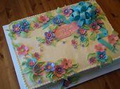 Hübscher Blechkuchen   – Tutorial