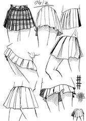 Zeichne die Falten der Kleidung – #der #Die #Falte…