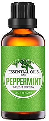 Homasy 50ml Aceite Esencial De Menta 100 Puro Aceite Perfumado Sin Diluir Natural Orgánico Para Difuso Aceites Esenciales De Menta Aceites Naturales Aceite