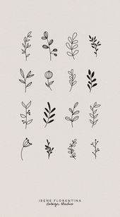 Invitations  This bundle includes 50 unique botanical floral illustrations which you can use ...