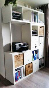15 inspiraciones para realizar proyectos con estanterías IKEA – Decoratio …