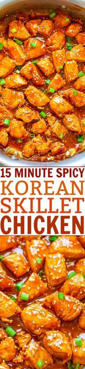 Fast EASY perfectly SPICY chicken that's so tender and juicy! Who needs takeout …