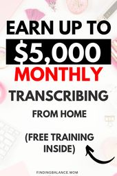 How to Become a Transcriptionist (And Make Full-time Income from Home)
