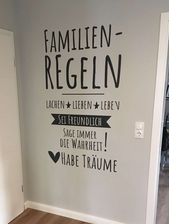 Wall decal family rules