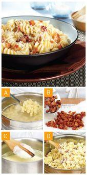 Comment faire des pâtes à la carbonara – – Pâtes – – #Carbonara #Comment #de …   – Pates Recette