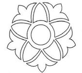 Dessin France Boutis Coloriage Mandala Broderie Blanche Coloriage