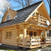 66 Best Small Log Cabin Homes (35