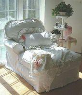 Romantic shabby chic living room decoration ideas (44) – HomeSpecially