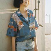 """""""Roses of LA"""" Vintage Shirt Description: Type: S…"""