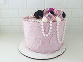 blackberry oreo cake; it's a blackberry oreo cake – 3 layers of dark chocola…