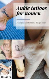 Beste kleine Tattoo-Placement-Ideen für Frauen | Platzierungsbedeutungen für weibliche Tätowierungen …   – Tattoo Placement