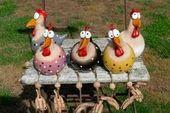 Bildergebnis für Keramikvögel für den Garten   – Keramik Vögel