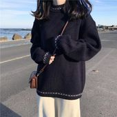Winter new Korean Harajuku fashion loose casual sweater