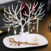 INSNIC Little Deer Jewelry Display Stand Tray Tree