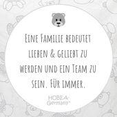 Eine Familie bedeutet lieben & geliebt zu werden und ein Team zu sein. Für immer! #sprüche #familie #liebe #team #spruchbild