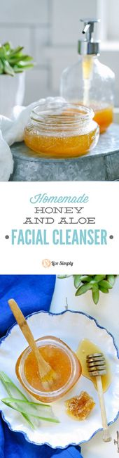 Three ingredients!! This homemade face cleanser is…