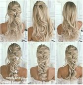 18 tutorials for wedding hairstyles for brides and bridesmaids – Claire C …. 18 tutorials for wedding hairstyles for brides and bridesmaids …
