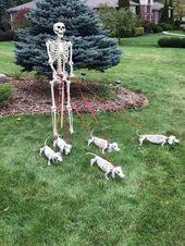 Las 53 ideas de decoración de patio de Halloween más populares para copiar ahora mismo   – Halloween Ideas