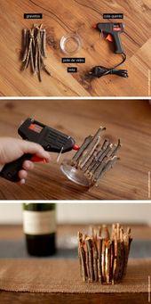 Photo of How to make an autumn candle holder – DIY – decorating blog – casa de firulas …