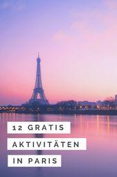 Kostenlose Aktivitäten in Paris