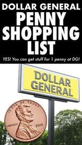 Dollar General Penny Shopping List Die Aktuellste Dollar General Penny Einkaufsliste Online Wir Fugen Der Liste Wochen In 2020 Couponing Fur Anfanger Penny Einkaufen