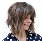 40 Shaggy Bob Hairstyles for Short & Medium Hair 2020