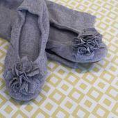 Pampus slippers Ballerina Grace, stone 39