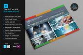 Technological Brochure 43 CreativeWork247 – Fonts, Graphics, Themes, Templates
