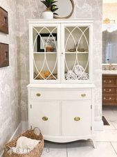 40 Ways to Decorate with Antique Furniture in the Bathroom   – Master bathrooms
