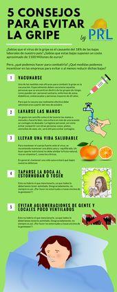 Consejos para evitar el contagio de la gripe estacional. ¿Qué podemos hacer pa…