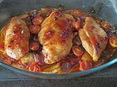 Toskanischer Hähnchen-Auflauf – kochen