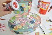 Easy Kids Craft: Decoupage-Schatzkiste – Mod Podge Rocks