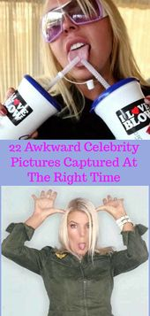 Doğru Zamanda Çekilen 22 Garip Ünlü Fotoğrafı