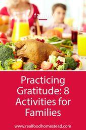 Möchten Sie Ihren Kindern helfen, Dankbarkeit für dieses Erntedankfest zu lernen? Klick er … – Raising Children on the Homestead