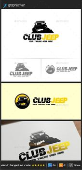 Jeep Logo Templates