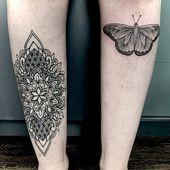 Links geheilt rechts frisch #blackwork #tattoo #tattoos #tattooart #tattooworkers