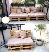 40+ Creative DIY Wodden Pallet Furniture Projects Ideas